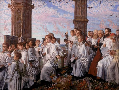 Holman Hunt May Day